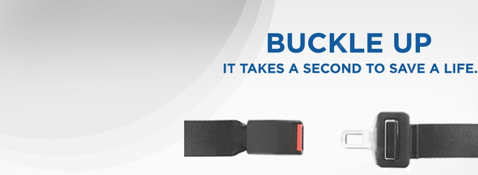 #AlwaysBuckleUp - It's the law and the right thing to do feature image